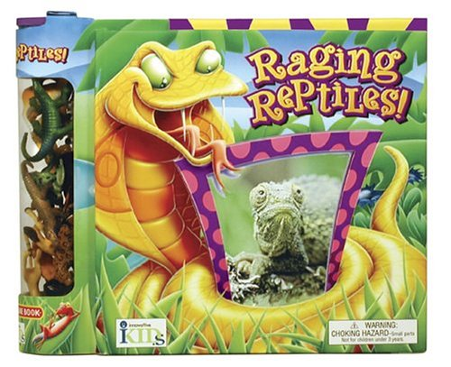 Groovy Tube Books: Raging Reptiles!