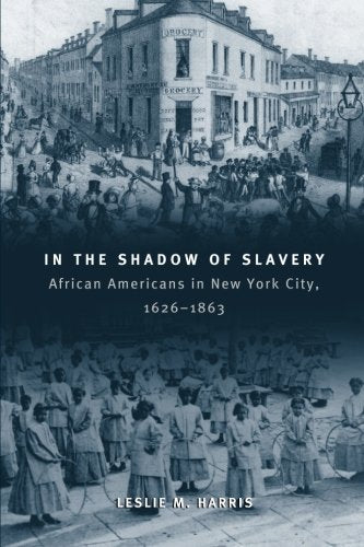 In The Shadow Of Slavery: African Americans In New York City, 1626-1863 (Historical Studies Of Urban America)
