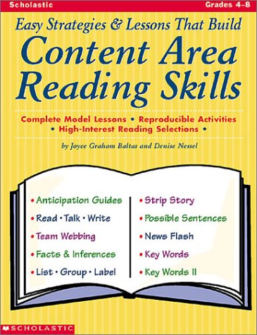 Easy Strategies And Lessons That Build Content Area Reading Skills