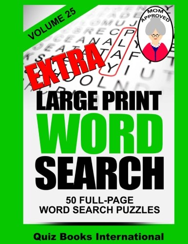 Extra Large Print Word Search Volume 25