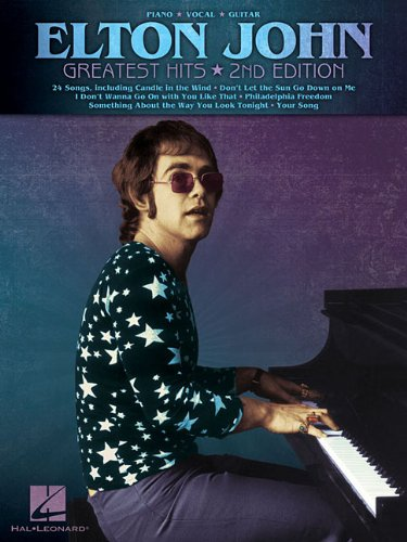 Elton John - Greatest Hits (Piano/Vocal/Guitar Artist Songbook)