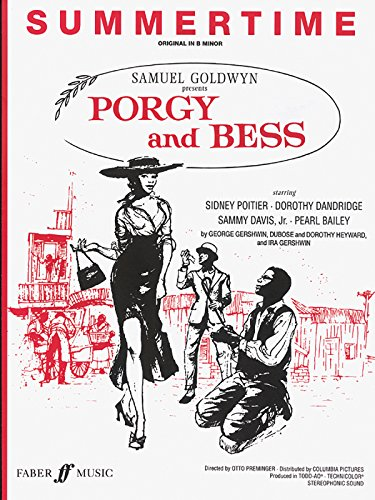 Summertime (From Porgy And Bess): Piano/Vocal, Sheet (Faber Edition)