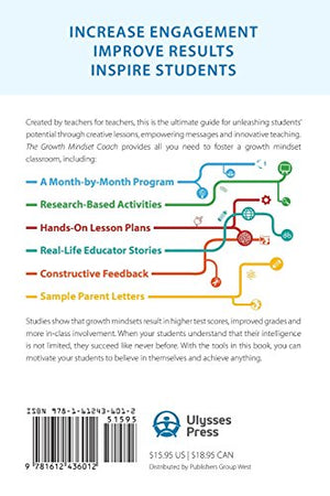The Growth Mindset Coach: A Teacher'S Month-By-Month Handbook For Empowering Students To Achieve