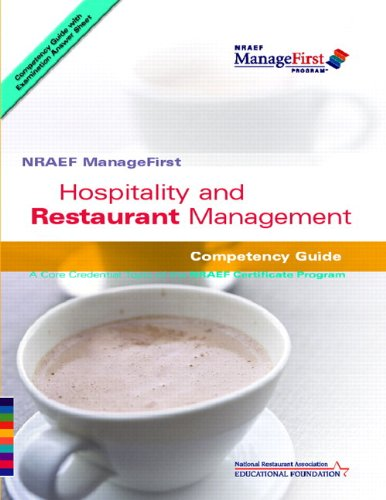 Managefirst: Hospitality And Restaurant Management With Pencil/Paper Exam And Test Prep