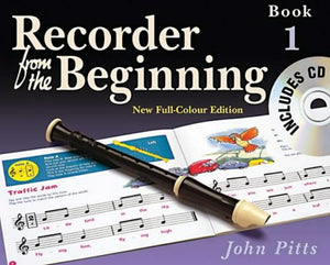Rec From Begin Color Ed Pupils Bk 1 2004 Bk/Cd (Recorder From The Beginning)