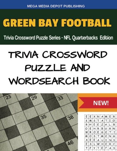 Green Bay Football Trivia Crossword Puzzle Series - Nfl Quarterbacks Edition