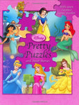 Disney Princess Pretty Puzzles (And Sweet Stories) (A Jigsaw Puzzle Book)