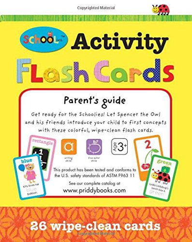 Schoolies: Activity Flash Cards