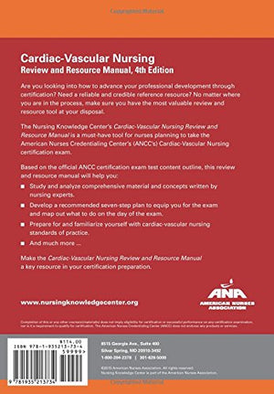 Cardiac-Vascular Nursing Review And Resource Manual, 4Th Edition
