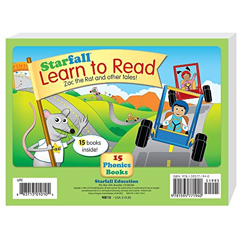 Starfall Learn To Read 15 Phonics Books