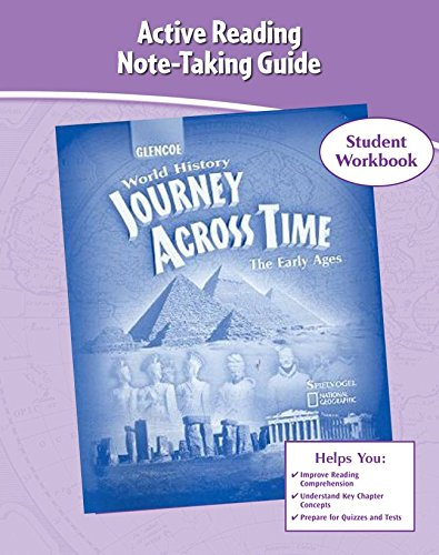 Journey Across Time, Early Ages, Active Reading And Note-Taking Guide (Ms Wh Jat Full Survey)