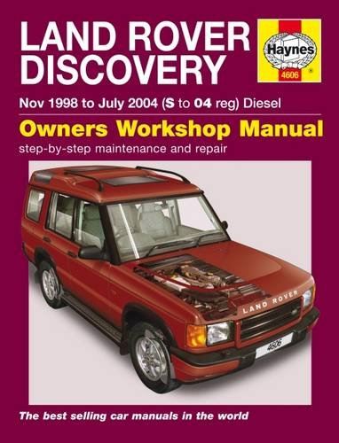 Land Rover Discovery Service And Repair Manual (Haynes Service And Repair Manuals)