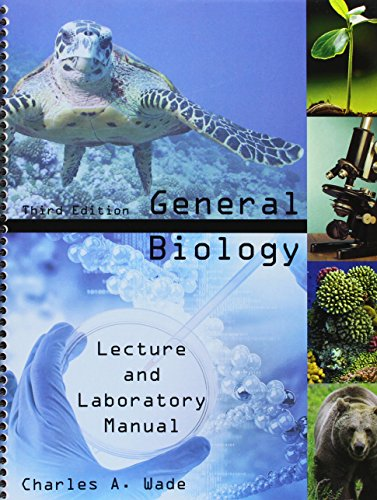 General Biology: Lecture And Laboratory Manual