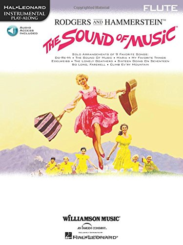 The Sound Of Music: Flute Play-Along Book/Online Audio Pack (Play Along (Williamson Music))