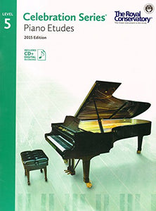 C5S05 - Royal Conservatory Celebration Series - Piano Etudes Level 5 Book 2015 Edition