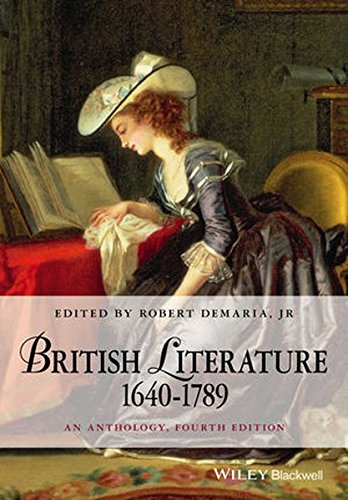 British Literature 1640-1789: An Anthology (Blackwell Anthologies)