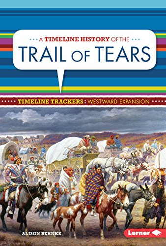 A Timeline History Of The Trail Of Tears (Timeline Trackers: Westward Expansion)