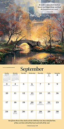Thomas Kinkade Gardens Of Grace 2017 Wall Calendar