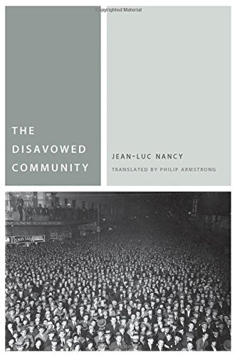 The Disavowed Community (Commonalities)