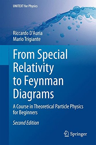 From Special Relativity To Feynman Diagrams: A Course In Theoretical Particle Physics For Beginners (Unitext For Physics)