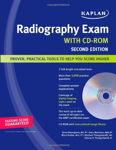 Kaplan Radiography Exam With Cd-Rom