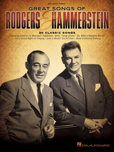 Great Songs Of Rodgers & Hammerstein (Big-Note Piano)