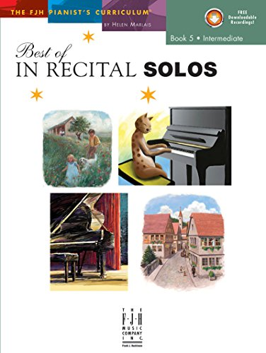 Best Of In Recital Solos, Book 5