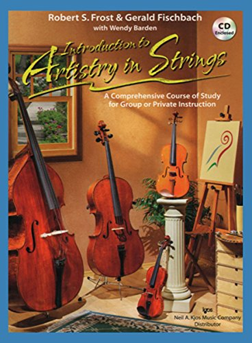 102Co - Introduction To Artistry In Strings Book/Cd - Cello