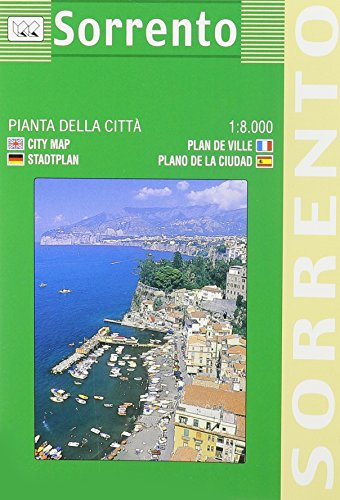 Sorrento City Plan (English, Spanish, French, Italian And German Edition)