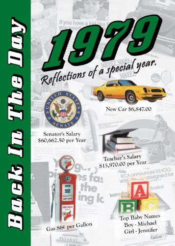 1979 Back In The Day Almanac -- 24-Page Booklet / Greeting Card