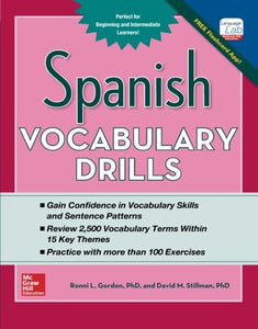 Spanish Vocabulary Drills