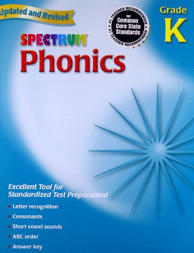 Spectrum Phonics, Kindergarten