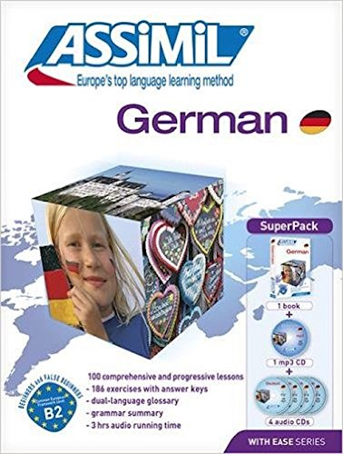 Assimil German With Ease - Learn German For English Speakers - Book+4Cd'S (German Edition)
