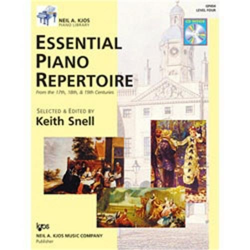 Gp454 - Essential Piano Repertoire Of The 17Th, 18Th, & 19Th Centuries Level 4