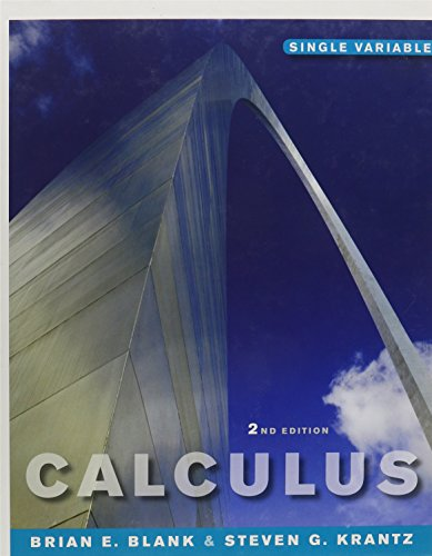 Calculus: Single Variable 2Nd Edition (Chs 1-8) And Wileyplus Combo Set
