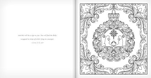 Peace On Earth - Adult Coloring Book: Color And Contemplate The Spirit Of The Season