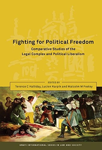 Fighting For Political Freedom: Comparative Studies Of The Legal Complex And Political Liberalism (Onati International Series In Law And Society)