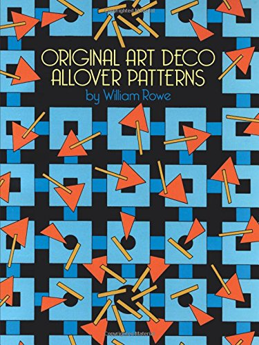 Original Art Deco Allover Patterns (Dover Pictorial Archive)