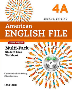 American English File Second Edition: Level 4 Multi-Pack A: With Online Practice And Ichecker