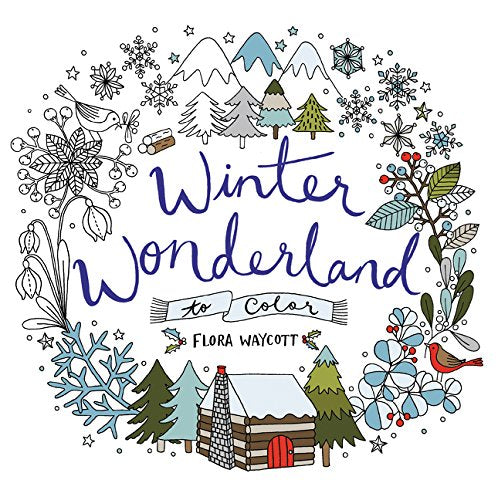 Winter Wonderland To Color