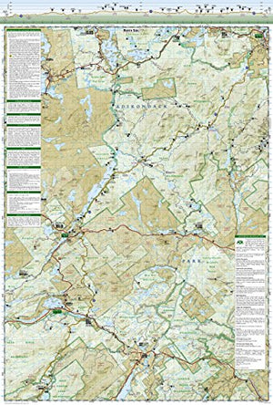 Northville-Placid Trail (National Geographic Trails Illustrated Map)