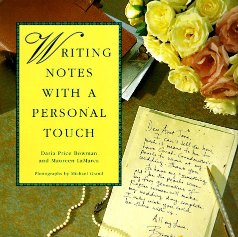 Writing Notes With A Personal Touch