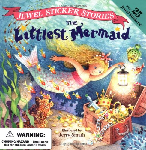 The Littlest Mermaid (Jewel Sticker Stories)