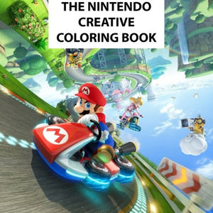 The Nintendo Creative Coloring Book: Kids, Kids Books, Creative, Coloring, Activity, Luigi, Peach, Pikachu, Daisy, Wario, Zelda, Meta Knight, N64, ... U, Mario Kart, Pac-Man, Mario, Manga, Anime