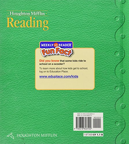 Houghton Mifflin Reading: Student Edition Grade 1.1 Here We Go 2008