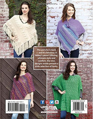 Knit Poncho Rebound | Leisure Arts (6793)