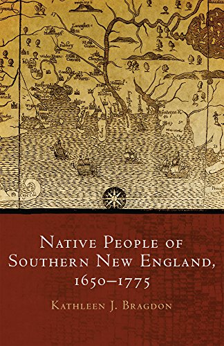 Native People Of Southern New England, 16501775 (The Civilization Of The American Indian Series)