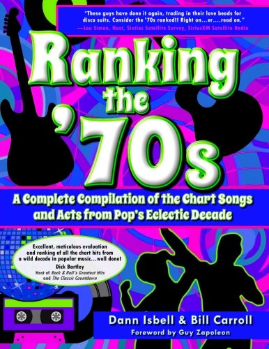 Ranking The '70S: A Complete Compilaton Of The Chart Songs And Acts From Pop'S Eclectic Decade