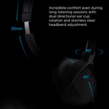 Brigsby Houston Active Noise Cancelling Wireless Headphones
