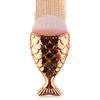 Mermaid Rose Gold Foundation Brush - MissieMay